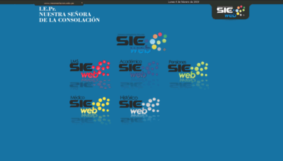 What Nsconsolacion.sieweb.com.pe website looked like in 2019 (2 years ago)