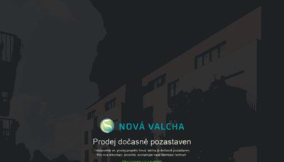What Nova-valcha.cz website looked like in 2020 (1 year ago)
