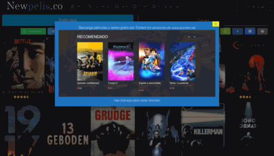 What Newpelis.nl website looked like in 2020 (1 year ago)