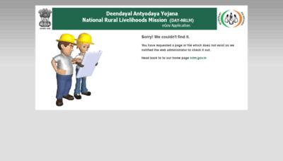 What Nrlm.gov.in website looked like in 2020 (1 year ago)