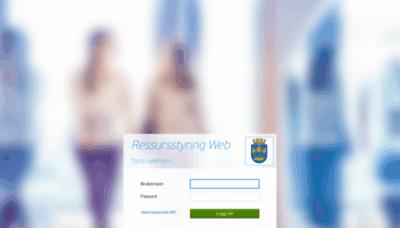 What Notusportal34.stavanger.kommune.no website looked like in 2020 (1 year ago)