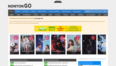 What Nontongo.fun website looked like in 2020 (This year)