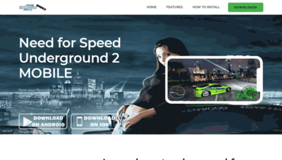 What Nfs.mobi website looked like in 2020 (This year)