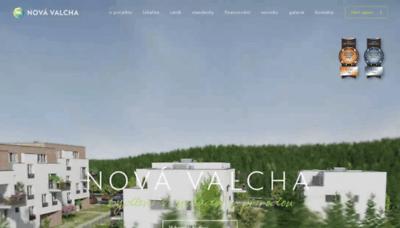 What Nova-valcha.cz website looks like in 2021