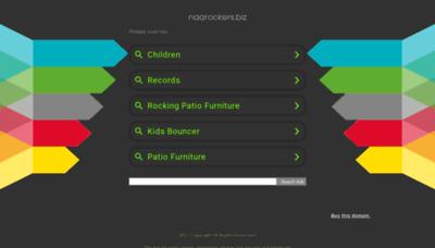 What Naarockers.biz website looks like in 2021