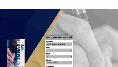 What Netice.az website looks like in 2021