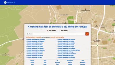 What Nestoria.pt website looks like in 2021