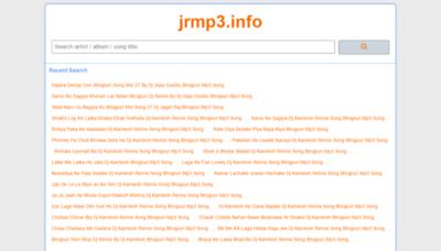 What New.jrmp3.info website looks like in 2021