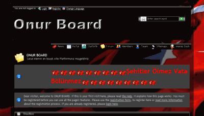 What Onur-board.de website looked like in 2017 (3 years ago)