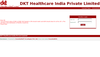 What Otc.dktindiasfa.in website looked like in 2018 (3 years ago)