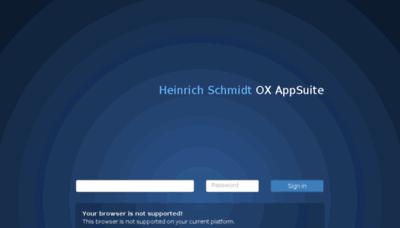 What Ox.schmidt-mg.de website looked like in 2018 (2 years ago)