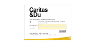 What Owa.caritas-wien.at website looked like in 2018 (3 years ago)