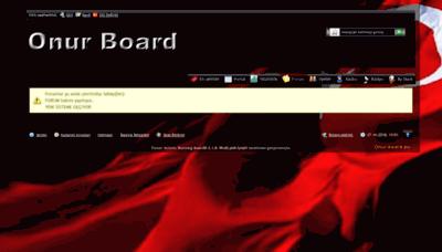 What Onur-board.de website looked like in 2018 (2 years ago)