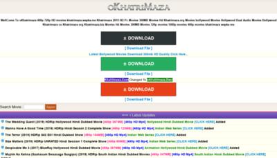 What Okhatrimaza.desi website looked like in 2019 (1 year ago)
