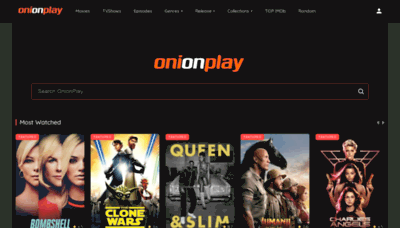 What Onionplay.co website looked like in 2020 (1 year ago)