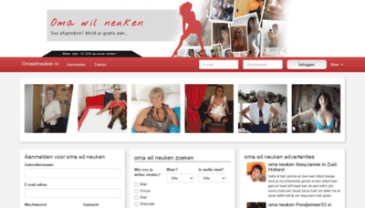 What Omawilneuken.nl website looked like in 2020 (This year)