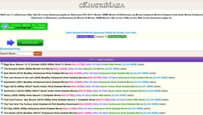 What Okhatrimaza.in website looked like in 2020 (This year)