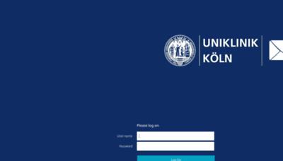What Owa.uk-koeln.de website looks like in 2021