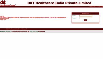 What Otc.dktindiasfa.in website looks like in 2021