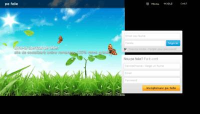 What Pefelie.net website looked like in 2015 (6 years ago)