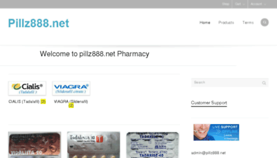 What Pillz888.net website looked like in 2016 (4 years ago)