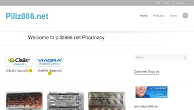 What Pillz888.net website looked like in 2017 (3 years ago)