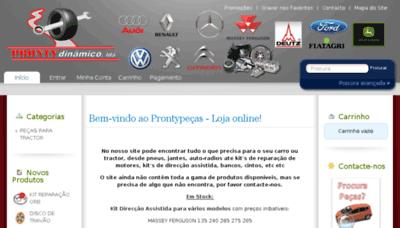 What Prontypecas.pt website looked like in 2018 (3 years ago)