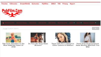What Pubfilm.ru website looked like in 2018 (3 years ago)