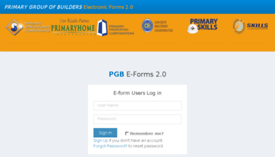 What Pgb-eforms.primary.com.ph website looked like in 2018 (3 years ago)