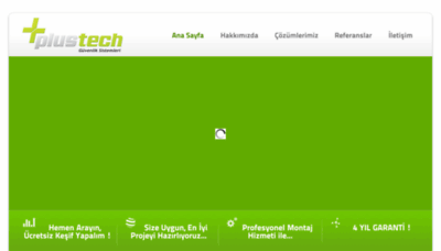 What Plustech.com.tr website looked like in 2018 (3 years ago)