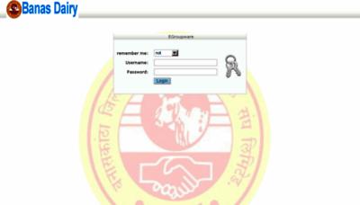 What Portal.banasdairy.coop website looked like in 2018 (3 years ago)
