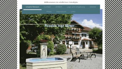 What Pension-moser-hopferau.de website looked like in 2018 (3 years ago)