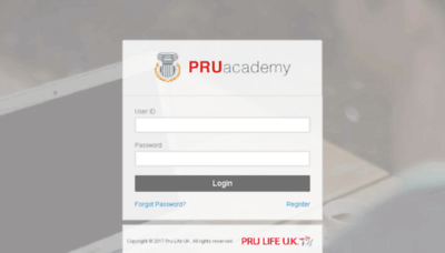 What Pruacademy.com.ph website looked like in 2018 (3 years ago)