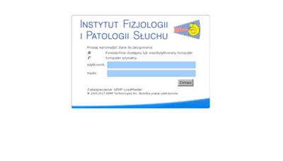 What Poczta.ifps.org.pl website looked like in 2018 (3 years ago)