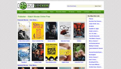 What Putlockers.fm website looked like in 2018 (2 years ago)