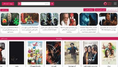 What Pishtazmovie.ir website looked like in 2018 (2 years ago)