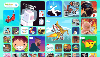 What Paisdelosjuegos.es website looked like in 2019 (2 years ago)
