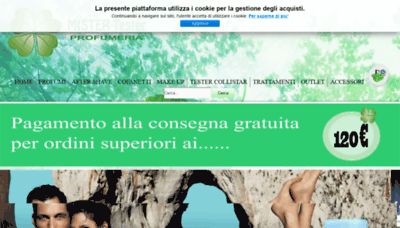 What Profumigrandimarchi.it website looked like in 2019 (2 years ago)