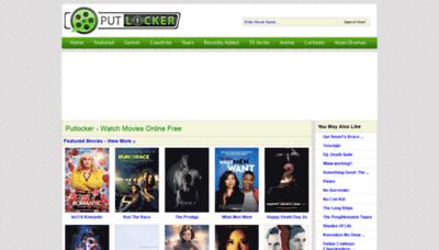 What Putlockers.plus website looked like in 2019 (2 years ago)