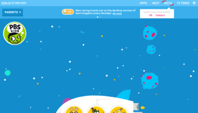 What Pbskids.org website looked like in 2019 (2 years ago)
