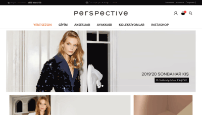 What Perspective.com.tr website looked like in 2019 (1 year ago)