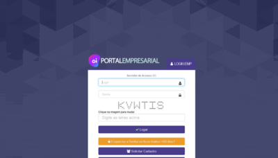What Portalempresarial.oi.net.br website looked like in 2019 (1 year ago)