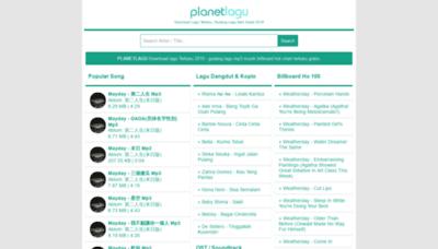 What Planetlagu8.wapku.net website looked like in 2019 (1 year ago)