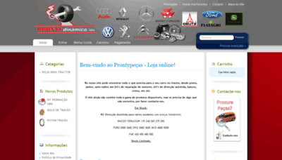 What Prontypecas.pt website looked like in 2020 (1 year ago)
