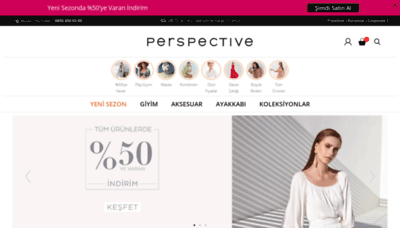 What Perspective.com.tr website looked like in 2020 (1 year ago)