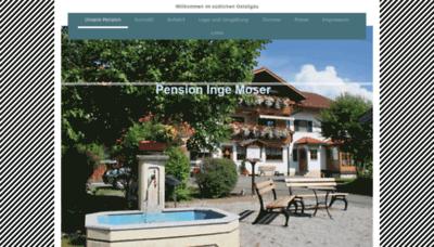 What Pension-moser-hopferau.de website looked like in 2020 (This year)