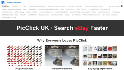 What Picclick.co.uk website looked like in 2020 (This year)