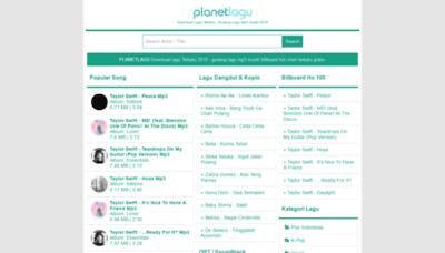 What Planetlagu8.wapku.net website looks like in 2021