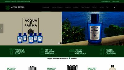 What Profumigrandimarchi.it website looks like in 2021