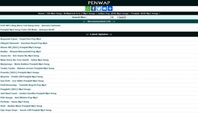 What Penwap.xyz website looks like in 2021
